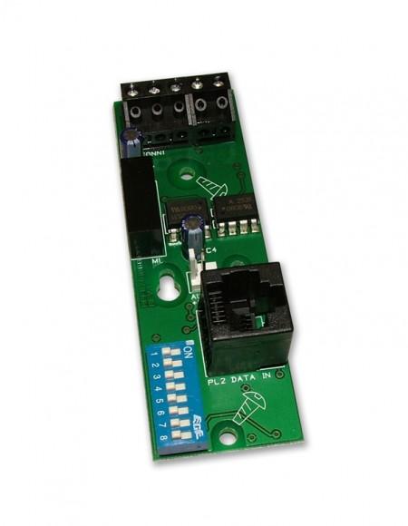 کارت شبکه مدل XFP761 پنل اطفا حریق