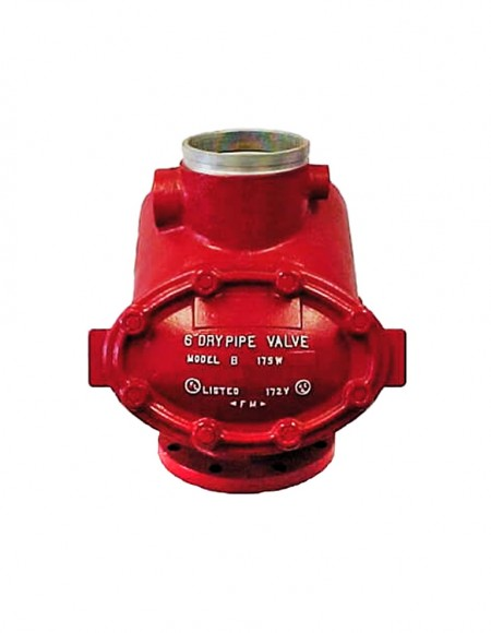 شیر اعلام  dry alarm valve
